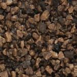 WB85 Woodland Scenics: Dark Brown Coarse Ballast (18 cu. in. bag)